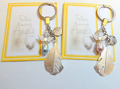 Feathers Appear When Angels are Near Guardian Angel Feather  Remembrance Gift