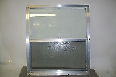 "24 1/4"" X 27 1/16"" Window Glass Manufactured Home Hunting Blind Shed Shack House"