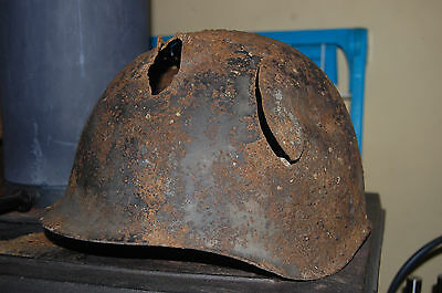 ww2 russian helmet, Sniper Damage Helmets