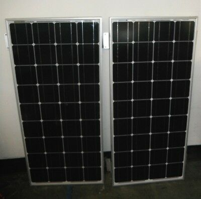 Lot x2 Renology RNG-100D 100w 12 Volts Solar Panels Local Pick Up Only