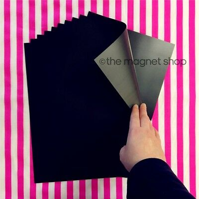 10 A4 Magnetic Sheets 0.5mm Flexible for Die Storage, Spellbinders and Crafts