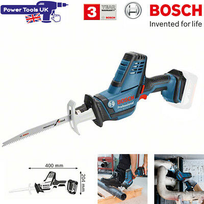 Bosch GSA18V-LICN Body Only Compact Sabre Saw with L-BOXX Inlay