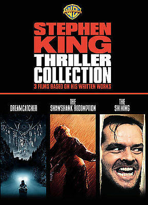 Stephen King Thriller Collection (Dreamcatcher / The Shawshank NEW DVD free ship