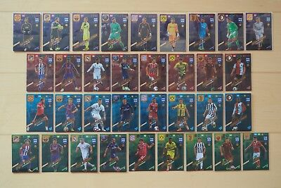 Panini FIFA 365 Adrenalyn 2018 XL Power Up, Goal Stopper, Key Player, Top Master