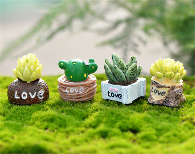 1:12 Mini Green Plant In Pot For Dollhouse Furniture Decoration Home Decor NB