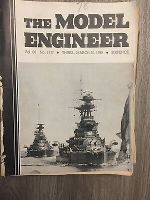 MODEL ENGINEER - 9 editions from 1939
