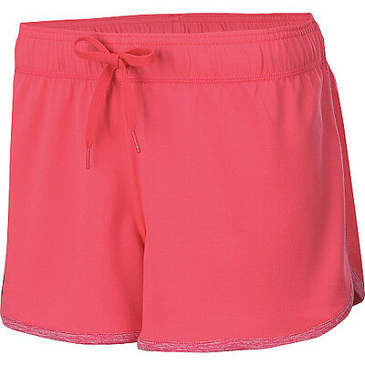 under armour womens tech loose fit training workout shorts pink drawcord sizes