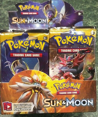 Pokemon Sun & Moon Original Booster Pack from Canada