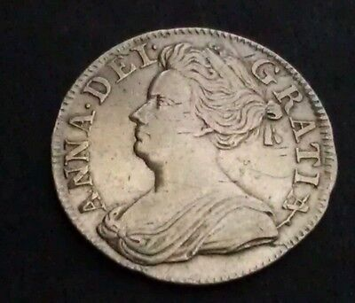 1709 Queen Anne Maundy Silver Threepence
