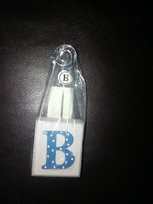 "Personalized ""B"" PICTURE  OR CARD HOLDER"