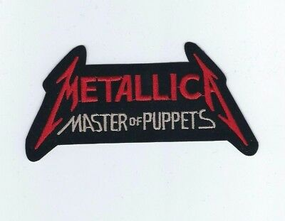Metallica Master Of Puppets Embroidered Patch !