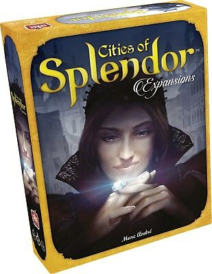 Cities Of Splendor Expansions Board Game Asmodee Games Mark Andre ASM SPL02