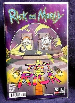 Rick and Morty Issue #25 1st Print Graded:FINE  *We Combine Shipping*