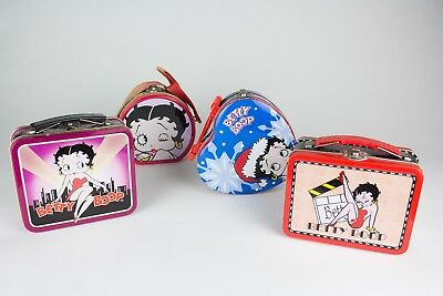 Betty Boop Tin Box (Set of 5) with Pencils