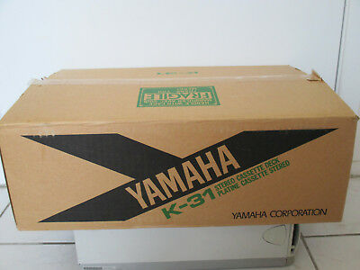 1980s Yamaha K-31 Stereo Dual Cassette Deck in Box