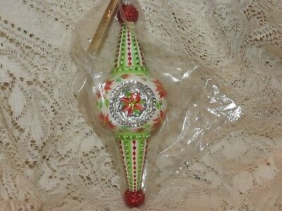 Patricia Breen Jeweled Poinsettia Looking Glass