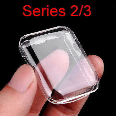 Apple Watch Series 3/2 Case Protective HD Clear Screen Protector 42/38mm