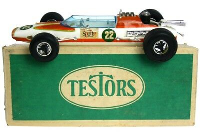 Vintage Testors Indy 500 Sprite Tether Gas Power Mint Unused w/Box & Insert Cox
