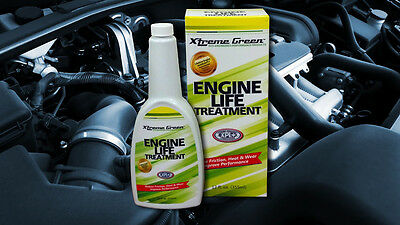 Xtreme Green Engine Life Treatment Turns Motor Oil Into Super Oil Bonds To Metal