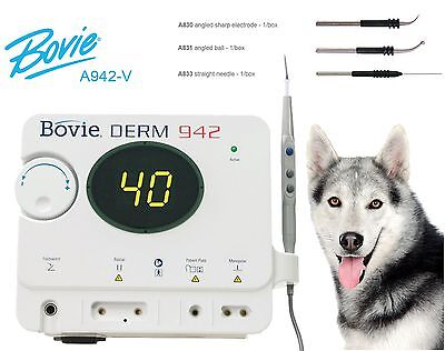 NEW ! Bovie A942 Electrosurgical Generator with Veterinary Package, A942-V