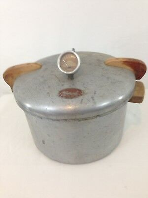 Vintage National No.7 American Made Aluminum Pressure Cooker UNTESTED