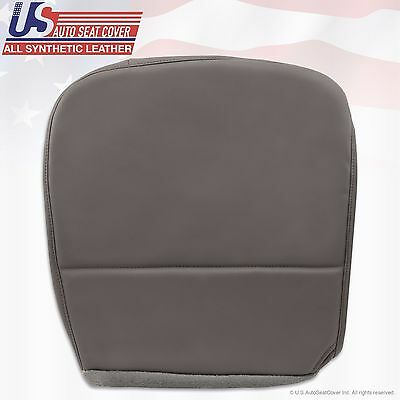 2008 Ford F250 F350 F450 F550 XL Driver Side Bottom Vinyl Seat Cover Gray
