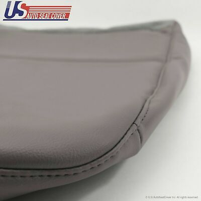 2009 Ford F250 F350 F450 F550 XL Driver Replacement Bottom Vinyl Seat Cover Gray