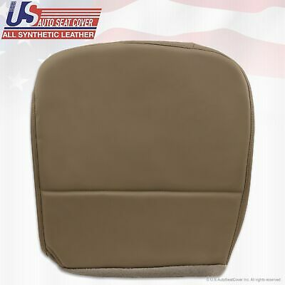 2008 to 2010 Ford F250 F350 F450 F550 XL Driver Side Bottom Vinyl Seat Cover Tan