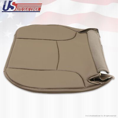 2003 Dodge Ram Work Truck Driver Side Bottom Replacement Vinyl Seat Cover Tan