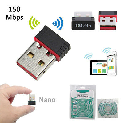 Nano USB Wireless IEEE 802.11n Mini WiFi Network Adaptor Dongle for PC Laptop
