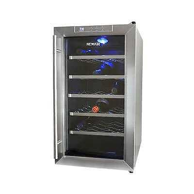 NewAir 18 Bottle Thermoelectric Wine Cooler AW-181E