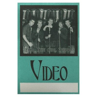 NSYNC Authentic 1997 For the Girl Tour satin Backstage Pass Justin Timberlake