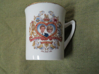 #yy,  1981 Royal Wedding  Mug - Charles & Lady Diana
