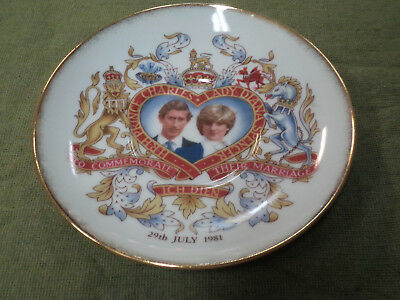 #yy,  1981 Royal Wedding  Saucer - Charles & Lady Diana
