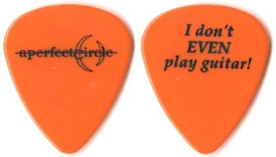 A Perfect Circle Maynard James Keenan 2000 tour Guitar Pick Mer de Noms Tool