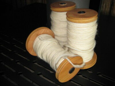 Spinning wheel bobbins. Stained.  X3