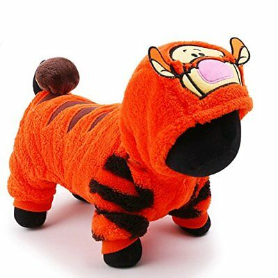 petcircle 2016 pet dog clothes for chihuahua in winter orange cute tiger hoodies