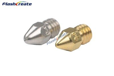 Zortrax M200 Nozzle 0.2/0.3/0.4/0.5mm For Brass/Stainless steel Afinia UP Plus 2