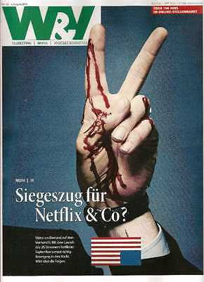 W&V NEU! Nr. 32 / 4. August 2014 Netflix Video on Demand Werben Verkaufen Media