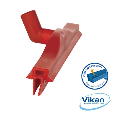 VIKAN 77234 50CM Professional Floor Cleaning Squeegee RED revolving neck NEW
