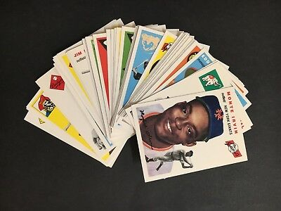 """Baseball Topps Card Lot Of Archives """"the Ultimate 1954 Series"""", Lot Of 52"""