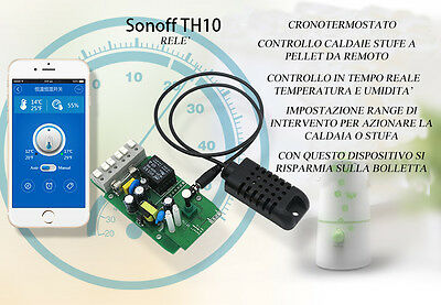 Accensione Stufa Pellet Termocamino Wifi Wireless Smartphone Interruttore No Gsm
