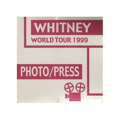 Whitney Houston authentic 1999 My Love is Your Love tour Backstage Pass photo