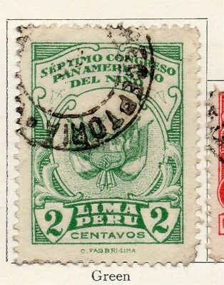 Peru 1930 Early Issue Fine Used 2c. 191118