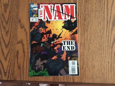 The 'nam #84..final Issue... Nm.. Htf..
