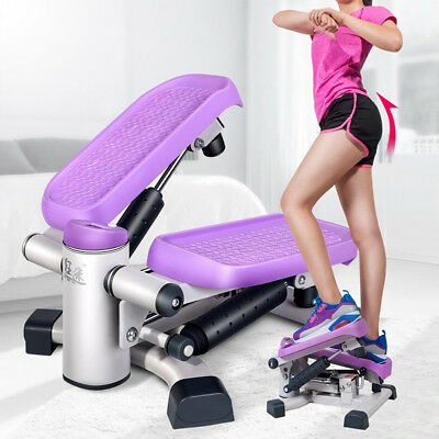 Kuangmi Fitness Step Climber Stepper Exercise Machine with Resistance Bands Pro