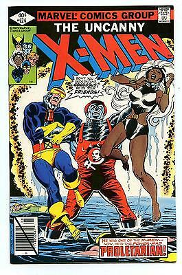 Uncanny X-Men #124 - Colossus Becomes Proletarian - Marvel 1979 NM-