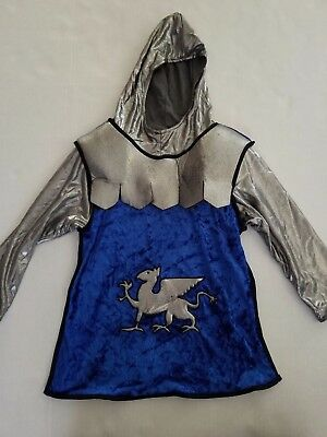 Gymboree Hooded Knight Costume Shirt Size 5-6 New with Tags Defects