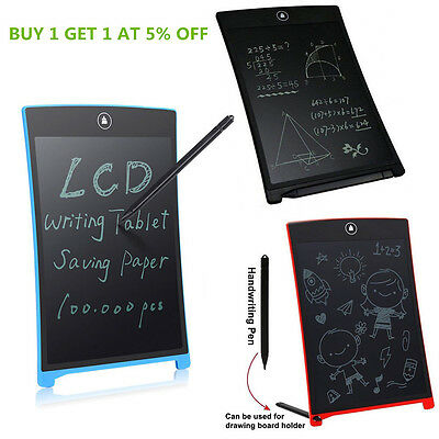 12/8.5 Inch LCD Writing Tablet Board Pad Office Notepad School Drawing Toy Gift