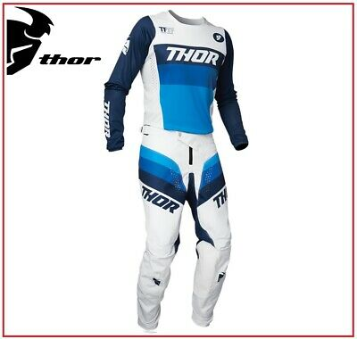 Completo Moto Cross Quad Enduro Thor Pulse Pinner Yellow Ufficiale 2020